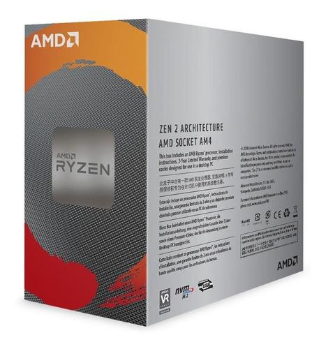 processador amd ryzen 5 3600 cache 32mb 3.6ghz(4.2ghz max tu