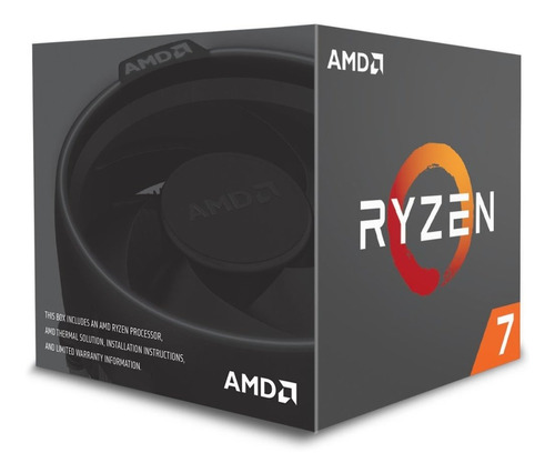 processador amd ryzen 7 2700 cache 20mb, 3.2ghz