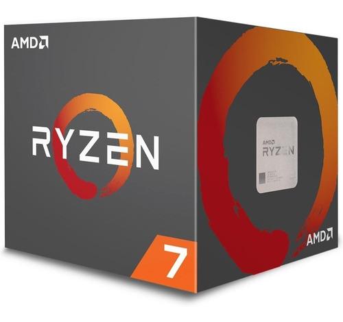 processador amd ryzen 7 2700 wraith spire cooler am4 3.2ghz