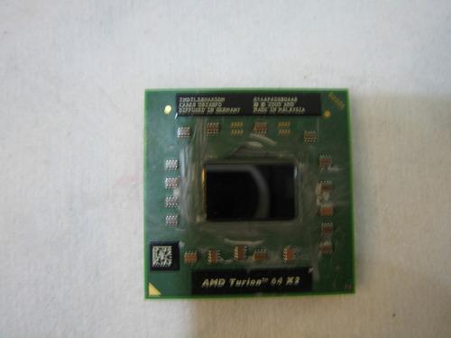 processador amd turion tmdtls8hax5dm hp dv 6750 br usado