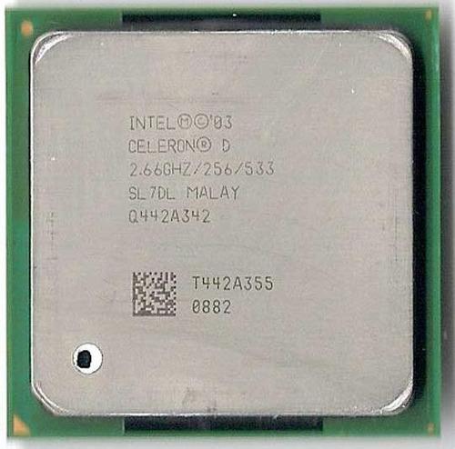processador celeron d 2.66ghz / 256 / 533 - lga 775