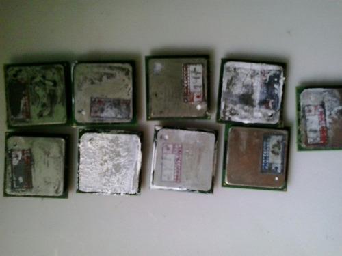 processador celeron ( lote 9 pecas)