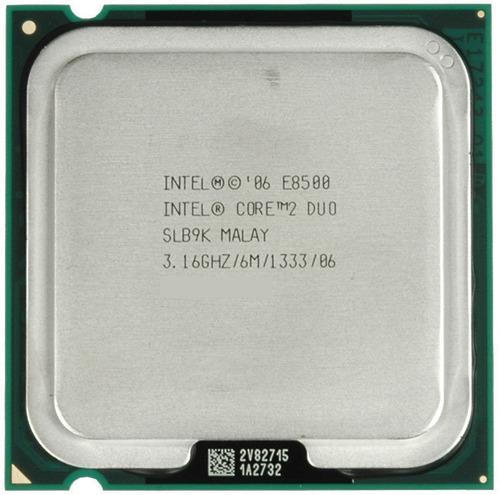 processador core 2 duo e8500  lga 775 temos e8400 e7500 '