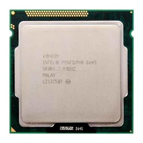 processador cpu intel g645 dual core 2.9 ghz soquete 1155
