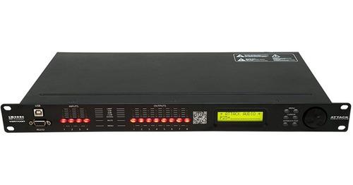 processador de áudio 24 bits c/ usb/ethernet lm408e - attack