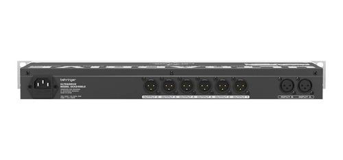 processador de áudio dcx 2496 le ultradrive behringer
