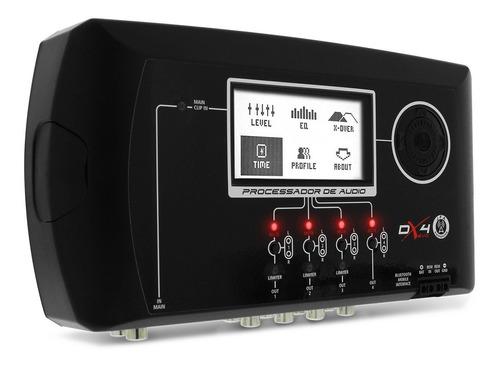 processador de audio jfa dx4 evolution bluetooth crossover