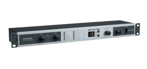 processador de efeitos digital phonic dfx256