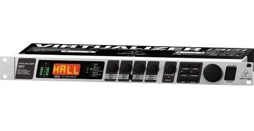 processador de efeitos fx 2000 virtualizer 3d - behringer