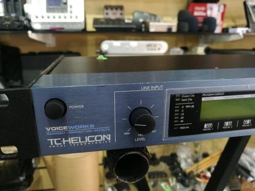 processador de voz vocalist tc helico voice works perfeito