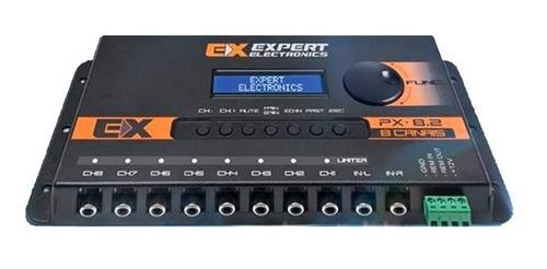 processador expert px8 limiter 8 ch px8.2 equalizador banda