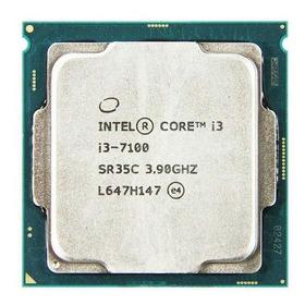 Processador Gamer Intel Core I3-7100 Bx80677i37100 De 2 Núcleos E 3.9ghz De Frequência Com Gráfica Integrada