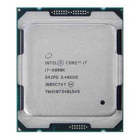 Processador Gamer Intel Core I7-6800k Cm8067102056201 De 6 Núcleos E 3.4ghz De Frequência