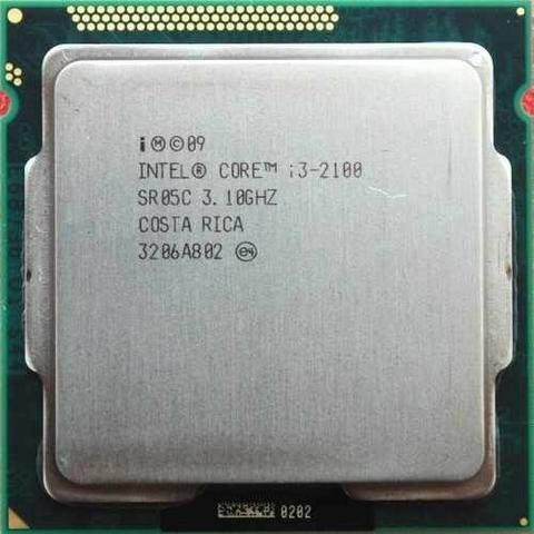 processador i3 2100 lga 1155 3,10 ghz