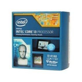 processador i3 4160 3.6ghz 4ª geração lga1150 usado c/cooler