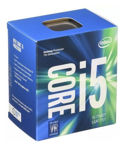 processador i5 7500t 7ª geração intel  2,7 ghz lga 1151 oem