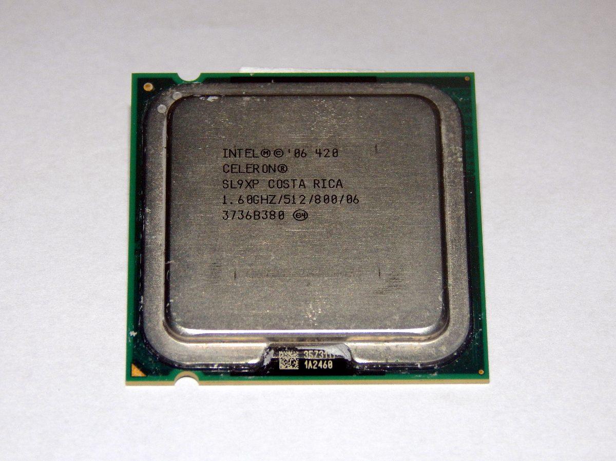 celeron 420_Processador Intel Celeron 420 1.6ghz Socket 775 - R$ 14,90 em Mercado Livre