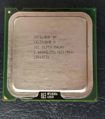 processador intel® celeron® d 331 2,66ghz - 256/533/04a