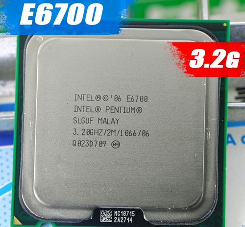 processador intel core 2 duo e6700 3.2ghz = core 2 duo e8600