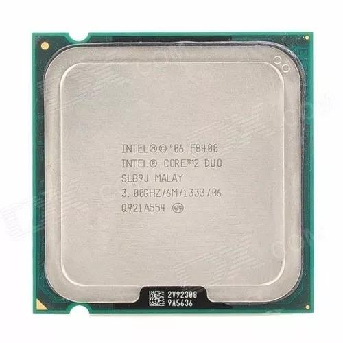 processador intel core 2 duo e8400 3.0ghz (6 meses garantia)