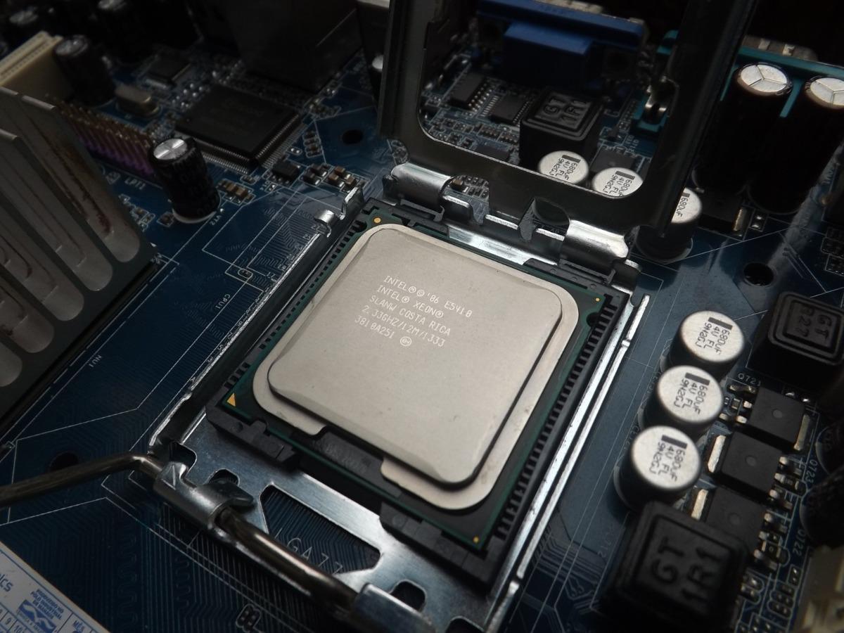 Processador Intel Core 2 Quad Q8200 Xeon E5410 12mb L2 775 R 89 Procesor Soket Carregando Zoom