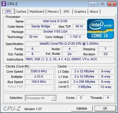 processador intel core i3 2120 soquete 1155