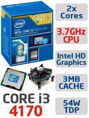processador intel core i3 4170 3.7ghz lga1150 box barato
