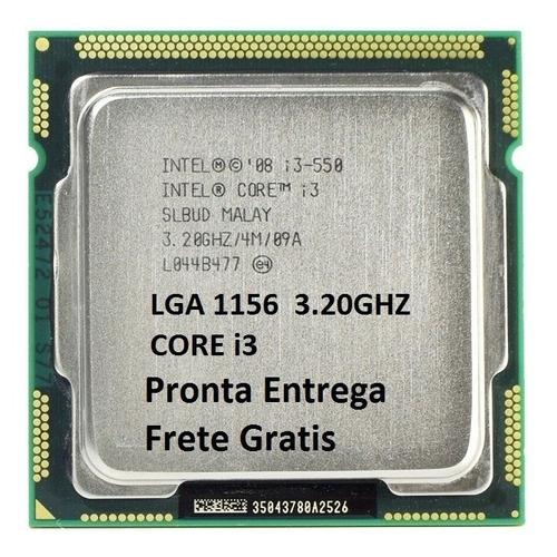 processador intel core i3-550 3,2 ghz 4mb lga 1156 semi novo