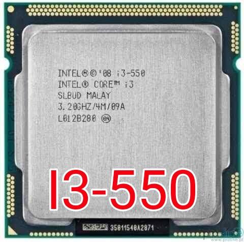 processador intel® core i3-550 dual-core 3.2ghz 4mb lga 1156