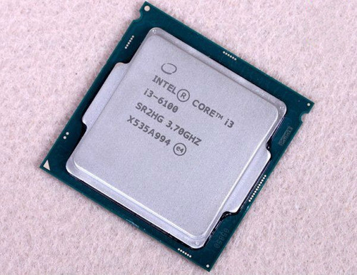 processador intel core i3 6100 3.7 ghz 6ª ger. c/cooler 1151