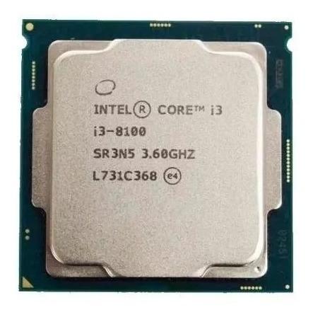 processador intel core i3-8100 8°geração