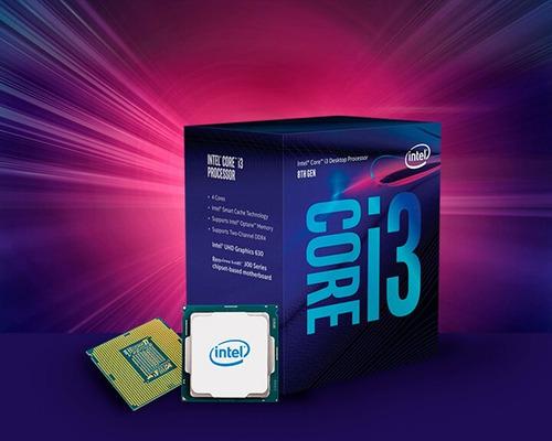 processador intel core i3-8100 coffee lake, 3.6ghz, lga 1151