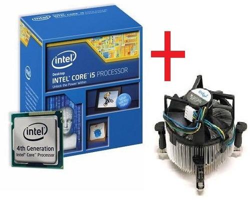 processador intel core i5 4440 3.1ghz 6mb lga 1150+cooler!