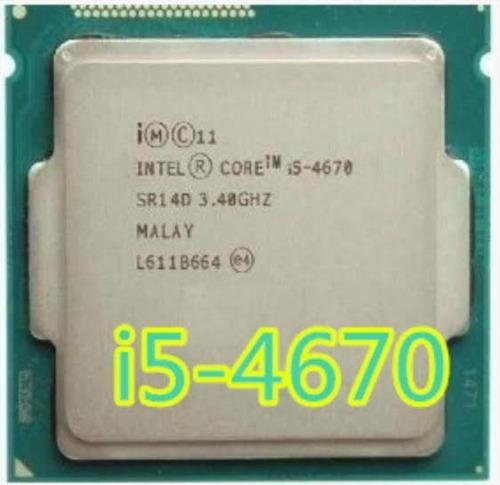 processador intel core i5 4670 1150 melhor q 4590 4570 4460