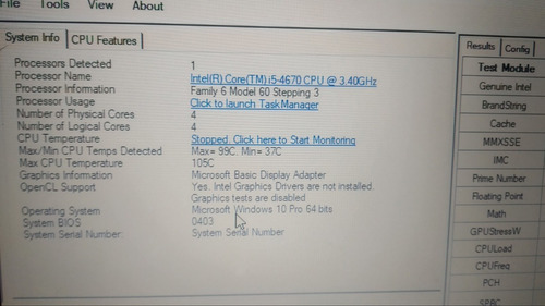 processador intel core i5 4670 3.4ghz socket lga 1150 (oem)