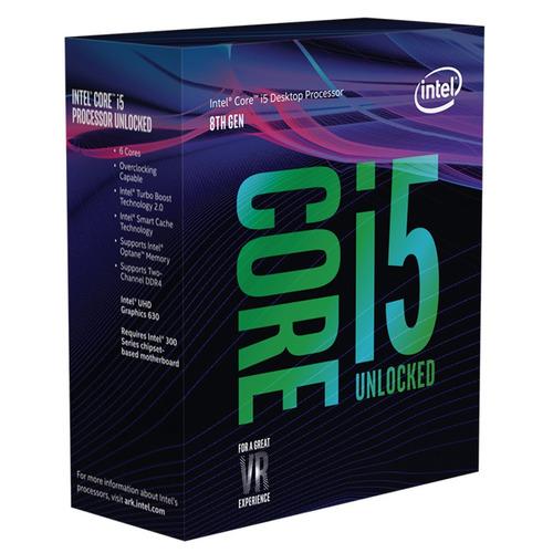 processador intel core i5-8600k. 4,3 ghz / lga1151 / 9 mb!