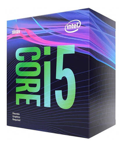 processador intel core i5 9400f 4.1ghz max turbo sem vídeo