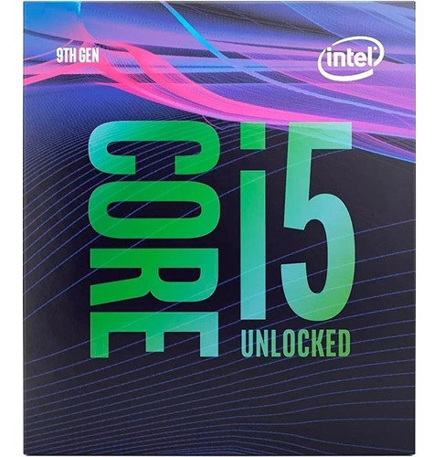 processador intel core i5 9600k coffee lake refresh, cache 9mb, 3.7ghz (4.6ghz max turbo), lga 1151 - bx80684i59600k