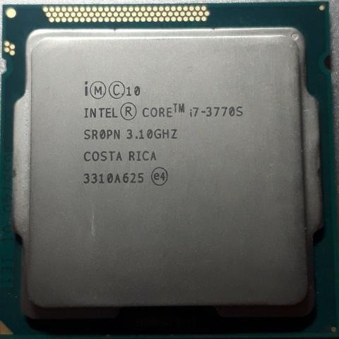 processador intel core i7 3770s 3.1 ghz socket 1155 3º geraç