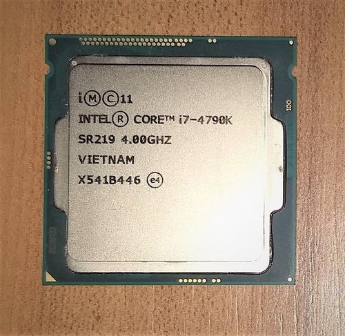processador intel core i7 4790k 4.0ghz 4ª geração lga1150