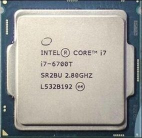 processador intel core i7-6700t 2.8ghz cache 8mb, 6a geração