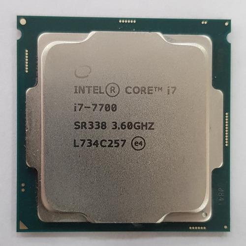 processador intel core i7 7700 kaby lake 4.20ghz lga1151 o&m