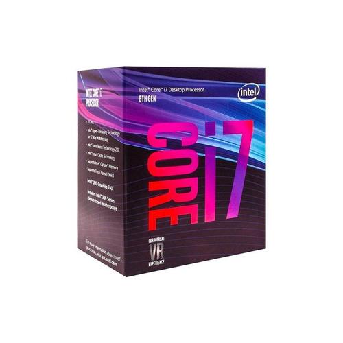 processador intel core i7 8700 - coffe lake lga 1151 + nf