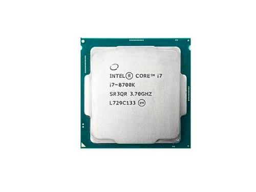 processador intel core i7-8700k coffee lake 8a geração 1151