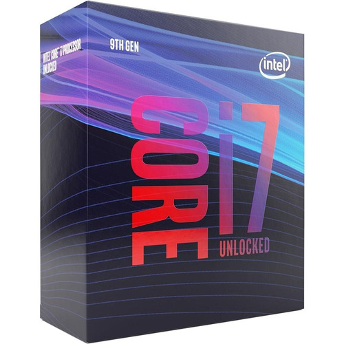 processador intel core i7-9700k coffee lake 3.6ghz cache 12m