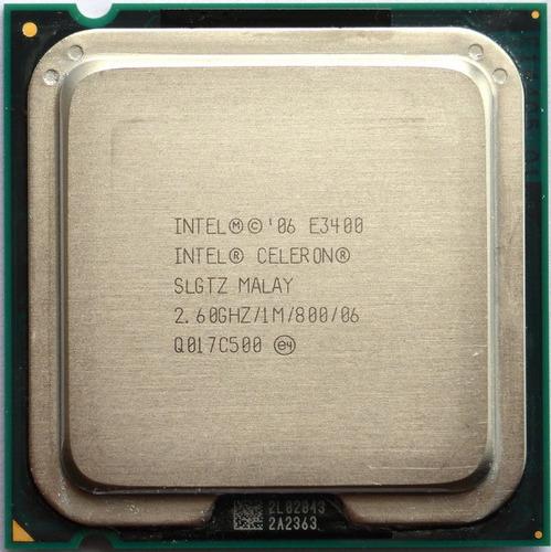 processador intel dual core e3400 socket 775 envio td.brasil