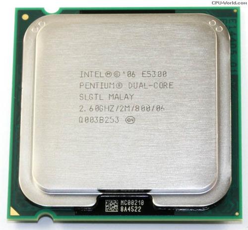 processador intel dual core e5300 socket 775 envio td.brasil