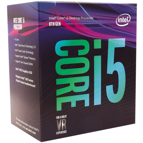 processador intel i5 8400 4.0ghz 9mb coffee lake lga 1151