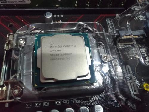processador intel i7 7700 7ger sk1151 cooler intel