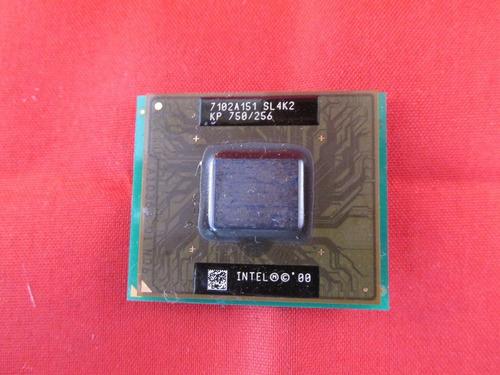 processador intel kp 750 / 256 - c/ garantia
